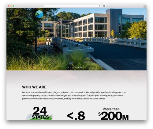 Betheme best WordPress template - integraconstruction.com