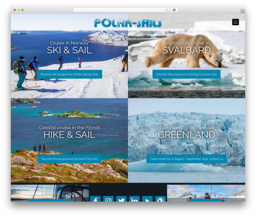 Betheme WordPress theme - polar-sails.com