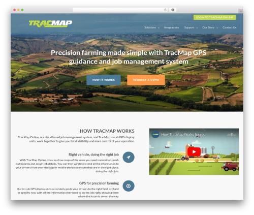 Bizlight Pro WordPress theme - tracmap.com