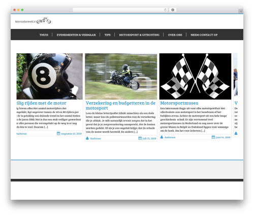 Business Corner WordPress theme download - motorracebarneveld.nl