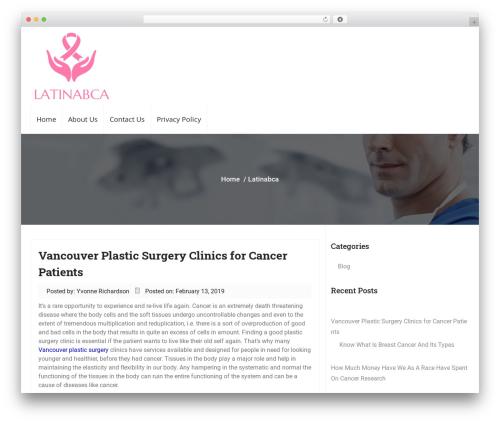 Business Responsiveness WordPress template for business - latinabca.org