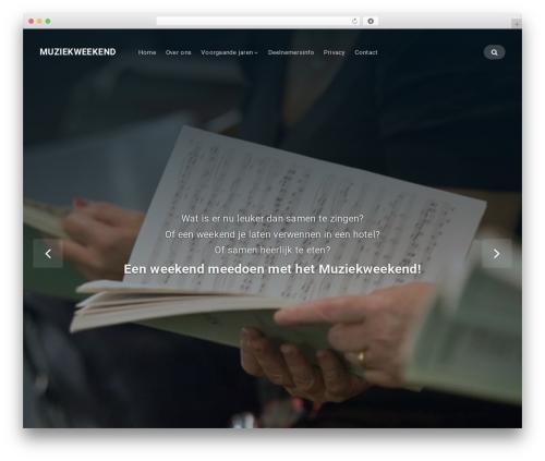 Businessx theme WordPress - muziekweekend.info