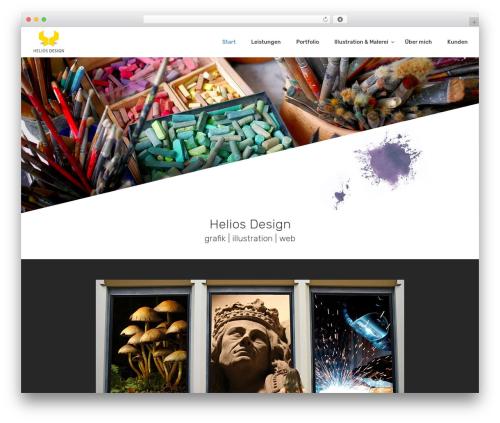 Creatink template WordPress - helios-design.de