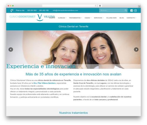 Customify WP theme - clinicaodontometvillena.com