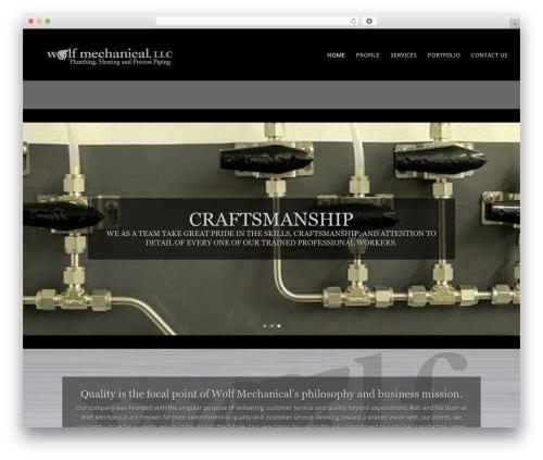 Divi best WordPress theme - wolf-mechanical.com