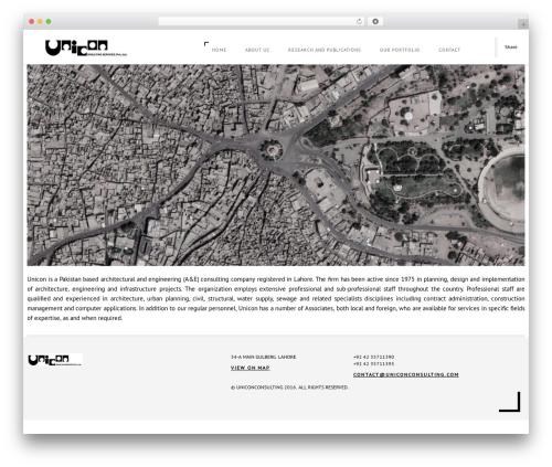Domik WordPress theme - uniconconsulting.com