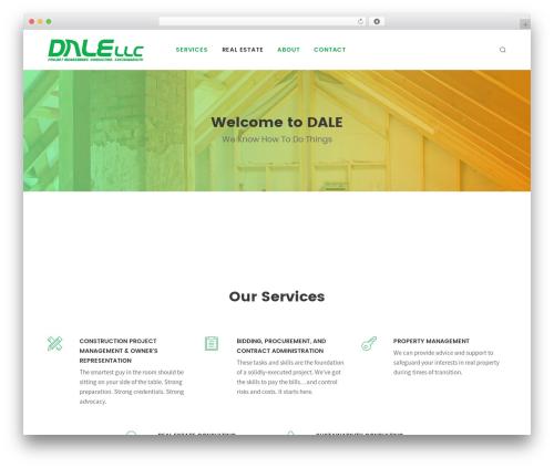 Folie WordPress template - dale-llc.com