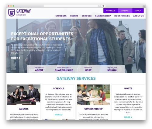 Free WordPress Slick Sitemap plugin - gateway-education.com