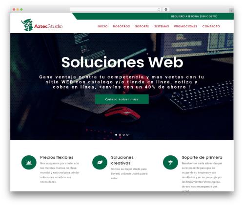 Logistix WordPress theme - aztecstudio.net