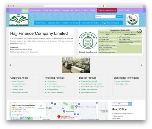 Free WordPress Easy Sidebar Menu Widget plugin - hajjfinance.net