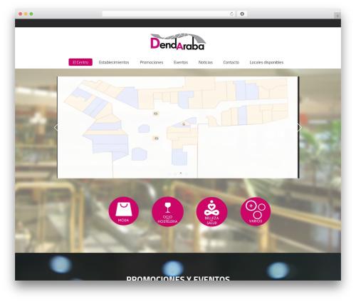 Mall theme WordPress - dendaraba.com