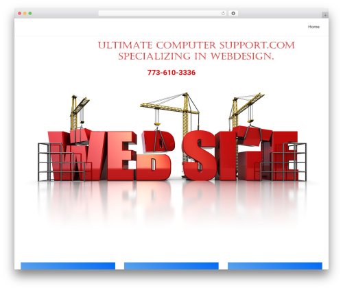 neve WordPress theme - ultimatecomputersupport.com