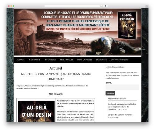 Newspaperly WordPress news theme - jmdhainaut.com