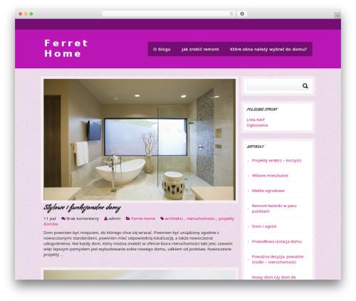 Relax WordPress theme - ferrethome.de