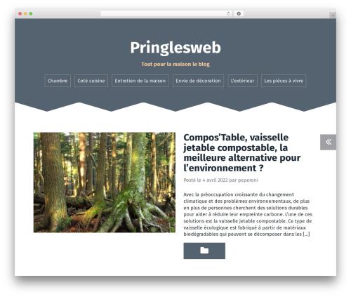Roda WordPress page template - pringlesweb.com