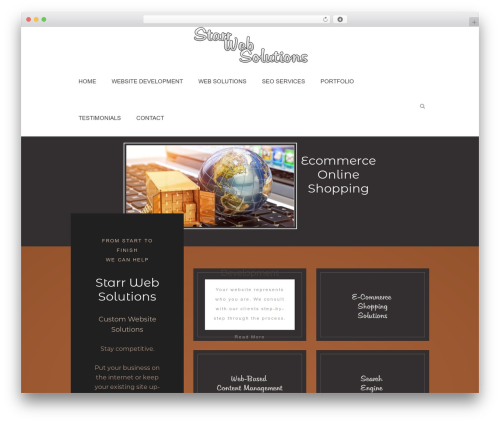 Sixth Avenue theme WordPress - starrwebsolutions.com