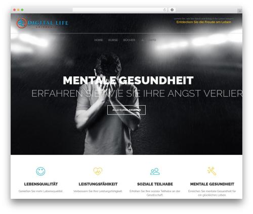 Skilled WordPress template - digitallifeuniversity.com