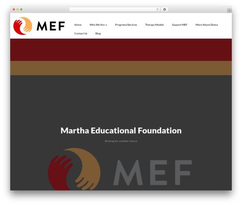 Somalite template WordPress free - marthaedu.org