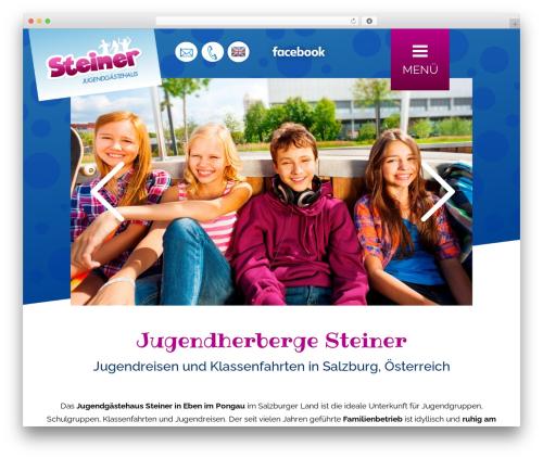 StrapPress WordPress website template - jgh-steiner.com