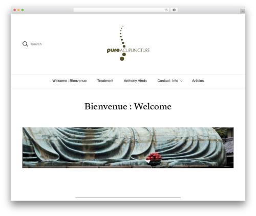Sullivan WordPress theme - pure-acupuncture.com