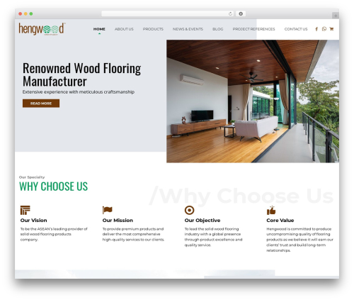 Template WordPress Ninja - hengwood.com