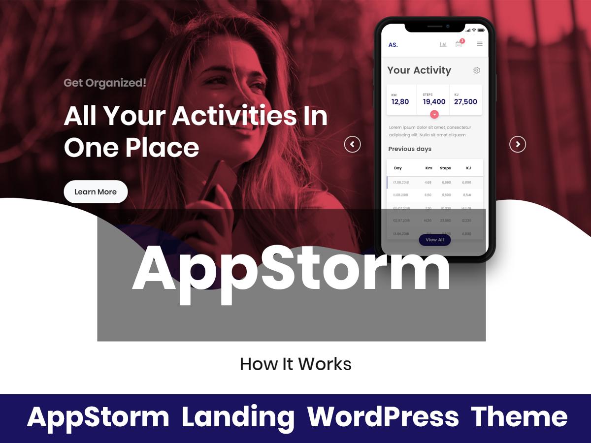 Theme WordPress AppStorm