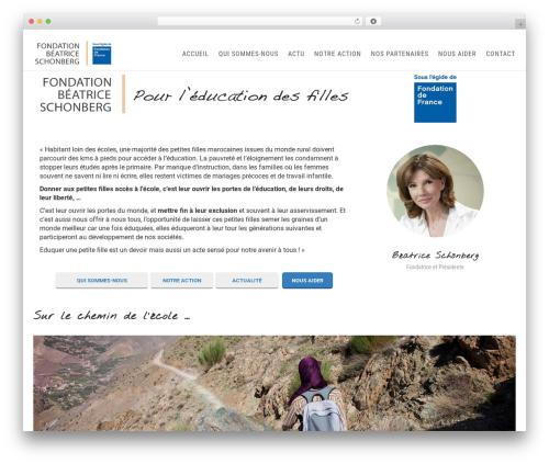Theme WordPress Sanabel - fondation-beatrice-schonberg.org