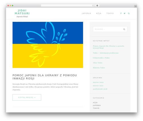 TheMotion Lite free WordPress theme - tokyo-jidaimatsuri.com