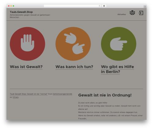 WordPress widgets-for-siteorigin-pro plugin - taub-gewalt-stop.net