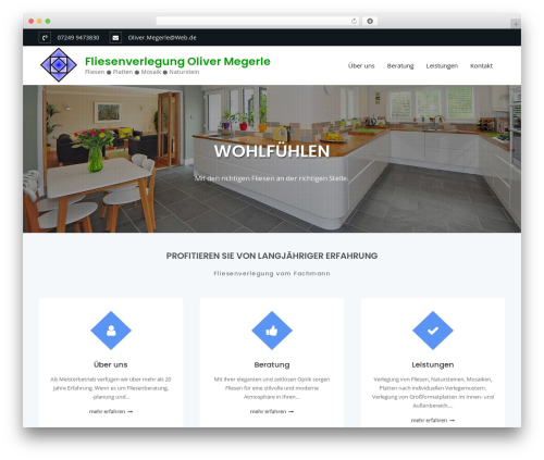 WordPress theme Business Club - megerle.info