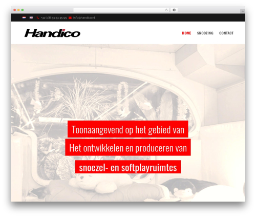 WordPress theme Total - handico.nl
