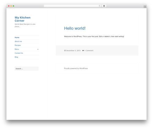 WordPress boldgrid-inspirations plugin - mykitchencorner.com