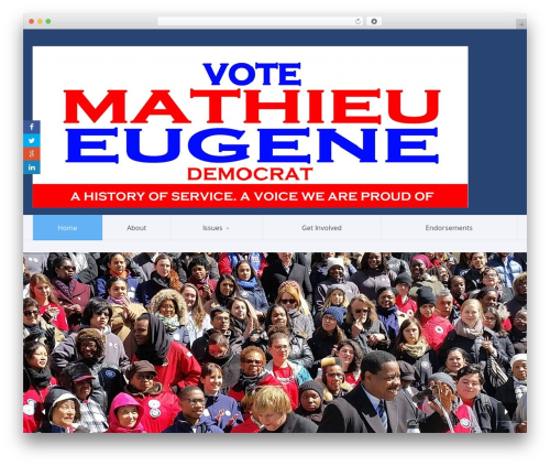 WP template Candidate - mathieueugene.com