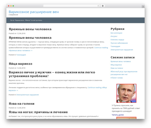 Best WordPress template Hakeem - sweetpine.ru