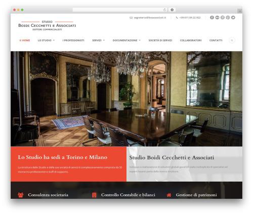 Best WordPress theme Lawyer Base - boidicecchetti.com