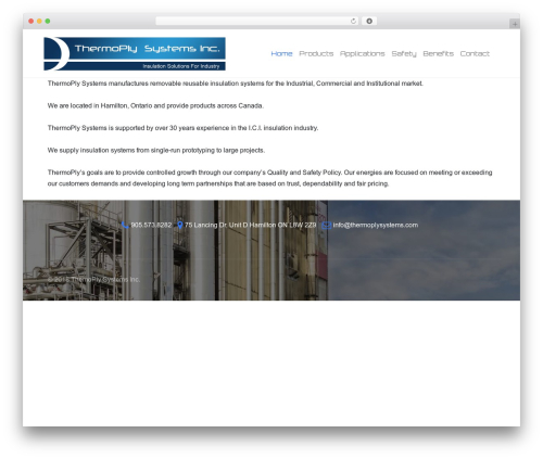 Edge best free WordPress theme - thermoplysystems.com