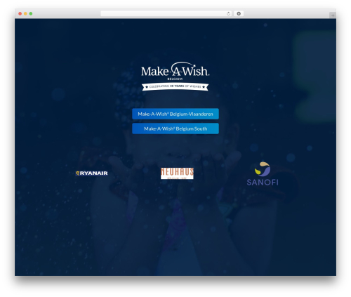 Flux WP template - makeawish.be