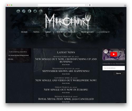 HnK WordPress shopping theme - mercenary.dk