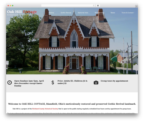 Holy Church WordPress shopping theme - oakhillcottage.org