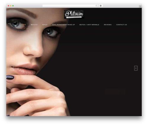 Kendall theme WordPress - platinumbeauty-southampton.co.uk
