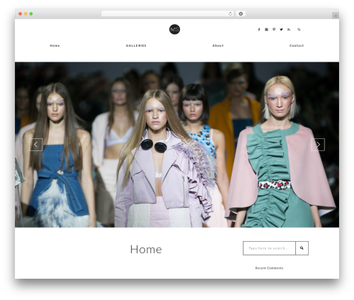 Melbourne WordPress template for photographers - michellesangsterphotography.com