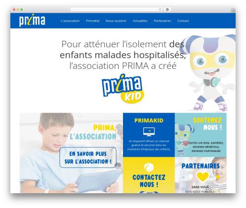 Prima WordPress template - asso-prima.org