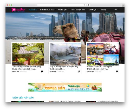 Theme WordPress Newspaper - tourdulichnepal.com