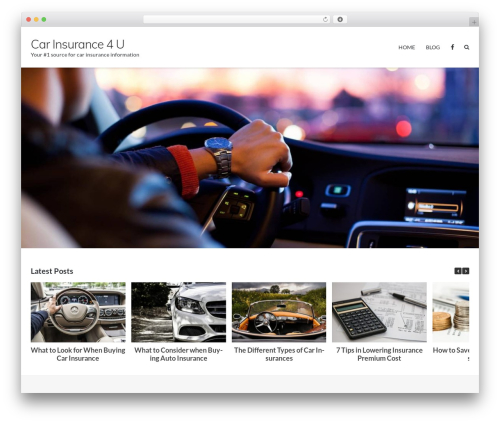 Theme WordPress Ultra Premium - carinsurance4u.info