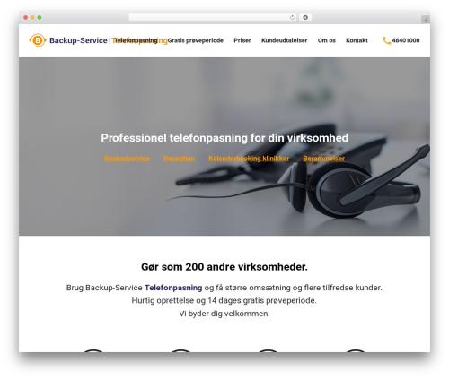Total free WP theme - telefonpasning-nu.dk