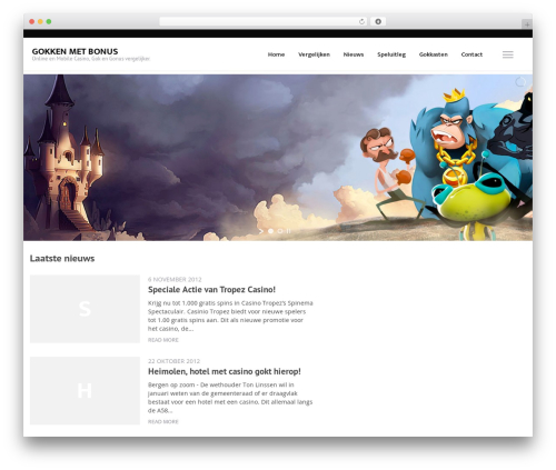 VegasHero Child Theme best WordPress theme - gokkenmetbonus.nl