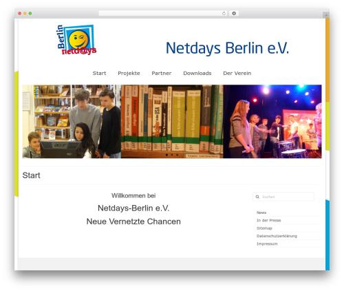 Virtue theme WordPress free - netdays-berlin.de