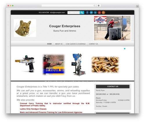 WP theme D5 Smartia - cougarenterprises.net