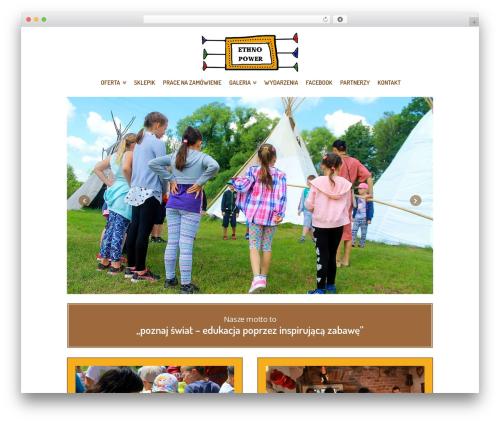 X Child Theme best WordPress theme - zaczarowanachata.pl