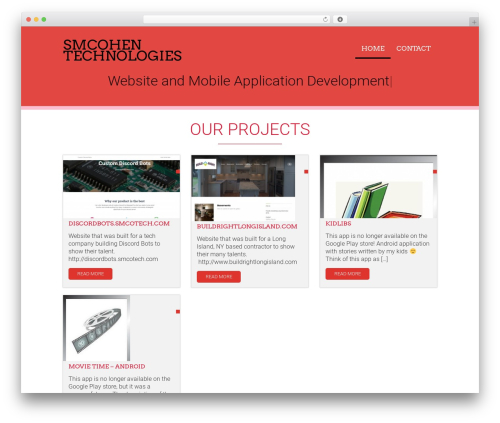 Acajou top WordPress theme - smcohen.com
